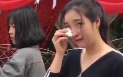 Sự thật clip cô gái xinh đẹp bật khóc giữa đám cưới của người yêu 9 năm