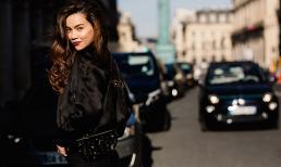 Hồ Ngọc Hà khoe thời trang đẳng cấp giữa đường phố Paris