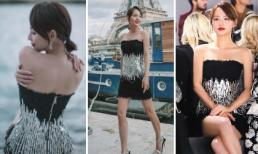 Không hề kém cạnh Angelababy, mỹ nhân đẹp nhất 'Diên Hi công lược' tỏa sáng ở Paris với thân hình siêu mỏng manh