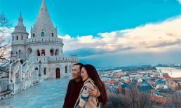 Ca sĩ Trúc Linh đăng loạt ảnh đẹp mê mẩn khi đến Hungary du lịch cùng ông xã