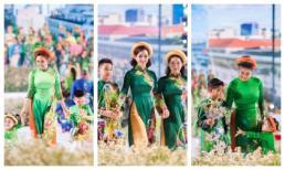 Các nhóc tỳ nhà Hà Kiều Anh, Đàm Lưu Ly, Mai Thu Huyền càn quét sàn catwalk