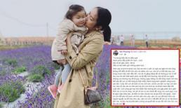 Bà xã Lam Trường viết tâm thư xúc động trong ngày con gái tròn 2 tuổi