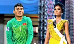 Hoa hậu H'Hen Niê khoe em trai có tên trong danh sách U23 Việt Nam dự giải châu Á