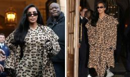 """Trở lại Paris sau vụ bị cướp dí súng vào đầu, Kim Kardashian """"hóa báo"""" với set đồ gần 280 triệu đồng"""