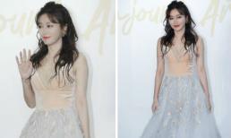 """""""Phú Sát Hoàng hậu"""" Tần Lam làm tim fan loạn nhịp khi khoác váy cô dâu"""