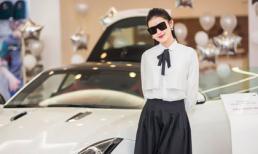 Á hậu Huyền My tậu xe sang Jaguar F-Type 6 tỉ đồng