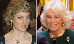 Đeo trang sức của Công nương Diana, bà Camilla bị chỉ trích