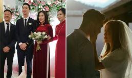 Em trai 'soái ca' của Hoa hậu Dương Thùy Linh tổ chức đám cưới với vợ xinh đẹp