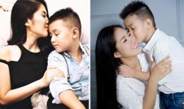 Lê Phương kể về nỗi vất vả khi mang bầu, sinh con trai đầu lòng: 'Ngày sinh con, mẹ trắng tay, nương nhờ nhà ngoại'
