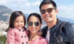 Mỹ nhân đẹp nhất Philippines phá vỡ mọi chuẩn mực về nhan sắc của phụ nữ khi mang bầu, gia đình hạnh phúc ở tuổi U40