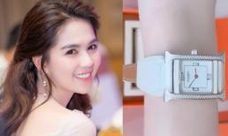 Ngọc Trinh khoe đồng hồ đính 122 viên kim cương khiến chị em 'phát sốt'