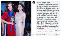 Trước thềm chung kết, Hương Giang động viên học trò: 'Chị chưa bao giờ hối hận vì đã lựa chọn em'