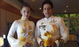 Trương Thị May và nam diễn viên hàng đầu Bollywood đoạt giải thưởng về Phật giáo tại Thái Lan