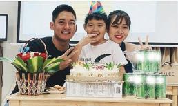 Sau 3 năm ly hôn, Diệp Bảo Ngọc - Thành Đạt cùng tổ chức sinh nhật con
