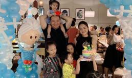 Dù đã ly hôn, Phạm Quỳnh Anh - Quang Huy vẫn tái hợp mừng sinh nhật con gái