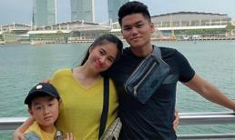 Lê Phương tăng cân thấy rõ khi du lịch Singapore cùng chồng con và hội bạn cực thân