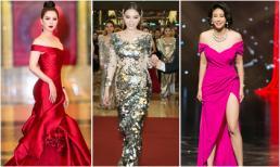 Bộ 3 người đẹp Kỳ Duyên, Hà Kiều Anh và Đinh Hiền Anh cùng đoạt giải cao tại Đêm hội chân dài