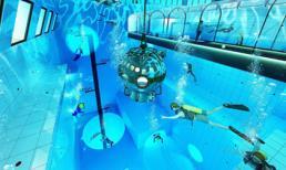 Chiêm ngưỡng hồ bơi sâu nhất thế giới thách thức mọi thợ lặn sắp mở cửa vào mùa thu năm nay