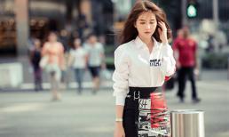 Hóa tiểu thư yêu kiều, Ngọc Trinh biến đường phố Singapore thành sàn diễn