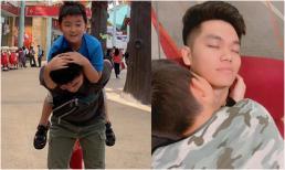Lê Phương khoe loạt ảnh cực tình cảm giữa chồng trẻ và con trai riêng Cà Pháo