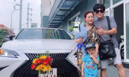 Vợ chồng diễn viên hài Kiều Linh, Mai Sơn tậu xế hộp hơn 2 tỷ đồng