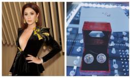 Lâm Khánh Chi được mẹ ruột tặng bông tai kim cương trị giá hơn 20 tỉ?
