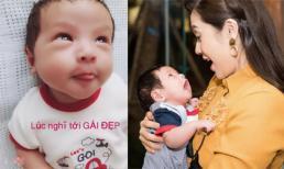 Con trai Thanh Thúy được mẹ gọi là 'thánh biểu cảm' nhờ loạt khoảnh khắc siêu đáng yêu