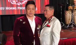 Ca sĩ Quang Lê khoe ảnh chụp cùng tỷ phú Hoàng Kiều tại Mỹ