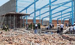 Vĩnh Long: Sập nhà xưởng ở khu công nghiệp, 5 người chết, 4 người bị thương