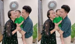 Kỉ niệm 3 năm ngày cưới, vợ Nam Cường tiết lộ mang bầu lần hai