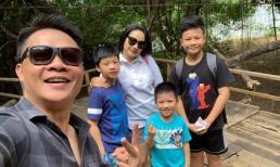BTV Quang Minh đưa vợ cùng ba con đi du lịch Buôn Ma Thuột