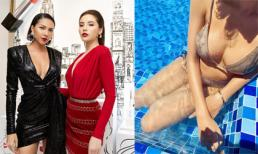 Kỳ Duyên đăng bức ảnh bikini nhưng dân mạng lại réo tên Minh Triệu vì điều này!