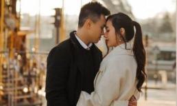Hot girl Mie Nguyễn 'nhá hàng' ảnh cưới ngọt ngào tại Paris