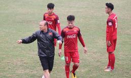 Gạch tên 5 cầu thủ, thầy Park vẫn đau đầu với bài toán nhân sự trước vòng loại U23 châu Á
