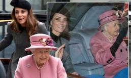 Lần đầu dự sự kiện riêng cùng Nữ hoàng, Kate Middleton thể hiện đẳng cấp thời trang và cách ứng xử của 1 Hoàng hậu tương lai