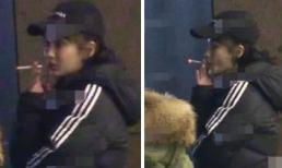 """Lộ cảnh """"phì phèo"""", Angelababy bị chỉ trích vì 11 năm vẫn không bỏ được thói quen hút thuốc"""