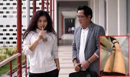 Diễn viên Thanh Hương bầm tím chân tay khi đóng cảnh chạy nhảy, rượt đuổi