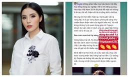 Hoa hậu Kỳ Duyên thừa nhận không thích được khen đẹp, từng không dám mở miệng nói câu thứ ba