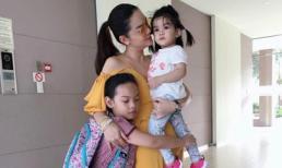 Lâu lắm mới thấy ba mẹ con Phạm Quỳnh Anh khiến fan xúc động