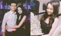 Bạn gái Phan Hoàng xinh như búp bê bên cạnh món quà sinh nhật 'khổng lồ' trong tiệc sinh nhật sớm