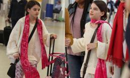 Vắng bóng cha, 'công chúa một thời của Hollywood' Suri Cruise mặc xuề xoà nhưng vẫn gây sốt vì xinh ngỡ ngàng
