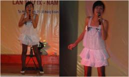 Ái Phương gây chú ý khi khoe ảnh đi thi hát 10 năm trước với gu thời trang sến súa