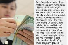 Thu nhập 25 triệu/tháng vẫn ế, cô gái nhờ mai mối bất ngờ nhận ngay câu trả lời phũ 'không ai lấy em đâu'