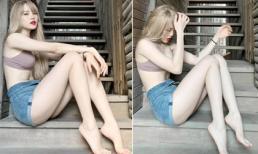 Đăng ảnh mới, 'bạn gái tin đồn' của Sơn Tùng khiến bất cứ ai cũng phải mê mẩn vì ngoại hình quá nuột nà