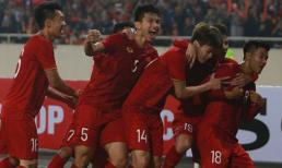 Cận cảnh bàn mở tỉ số của Hà Đức Chinh vào lưới U23 Thái Lan