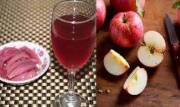 Công thức hành tây + táo, trong 7 ngày loại bỏ chất béo và tàn nhang, đồng thời chống lão hóa