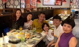 Nghệ sĩ Công Lý cùng bạn gái và vợ cũ tổ chức sinh nhật cho con gái