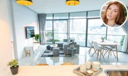 Minh Tú khoe căn hộ sang trọng 108 m2 do siêu mẫu tự tay thiết kế