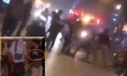 Hành hung bạn gái vì bắt gặp đi với trai lạ, nam thanh niên bị đoàn người ăn mừng U23 Việt Nam lao vào đánh hội đồng