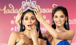 Tượng sáp Hoa hậu Hoàn vũ 2015 - Pia Wurtzbach khiến dân mạng thích thú vì quá giống người thật